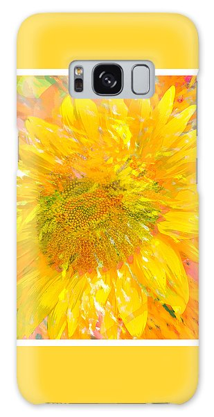 Sunflower Sunshine Galaxy Case