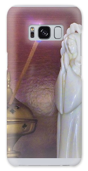 Galaxy Case featuring the photograph You Are The Light Of The World by Denise Fulmer