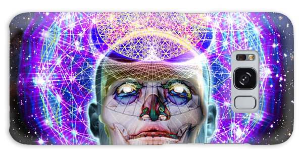 You Are Your Own God Take Responsablility Galaxy Case by Tony Koehl