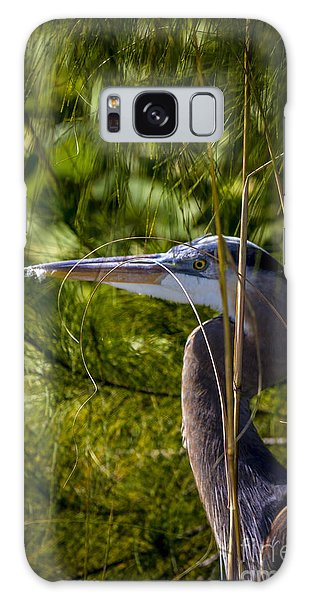 Egret Galaxy Case - You Can't See Me by Marvin Spates