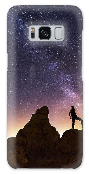 You Cant Take The Sky From Me Galaxy Case