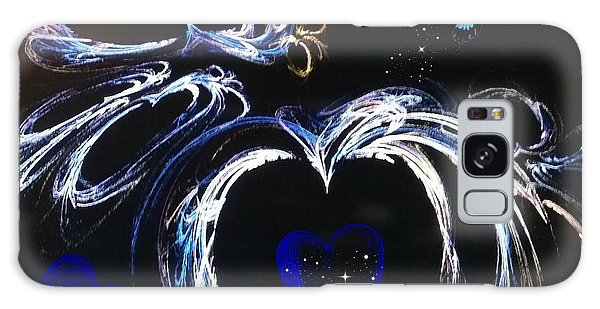 You Gave My Heart Wings Galaxy Case