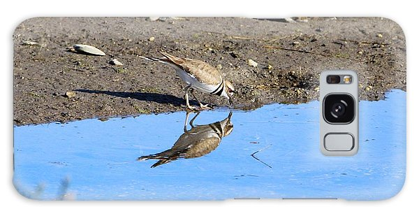 Killdeer Galaxy Case - You Look Familiar  by Karen Silvestri