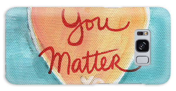 Heart Galaxy Case - You Matter Love by Linda Woods