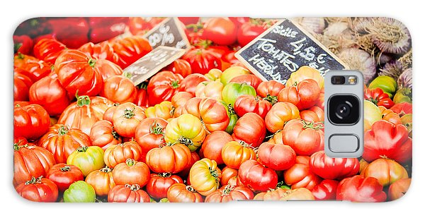 Galaxy Case featuring the photograph You Say Tomato by Jason Smith