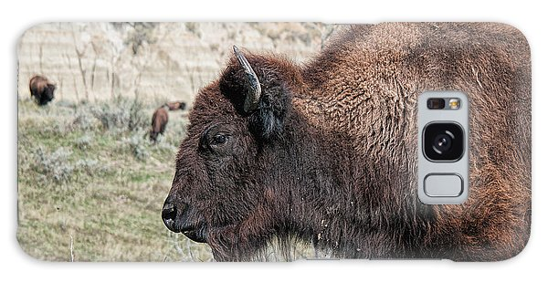 Young Bison Galaxy Case