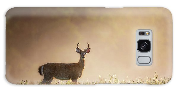 White-tailed Deer Galaxy Case - Young Buck by Bill Wakeley