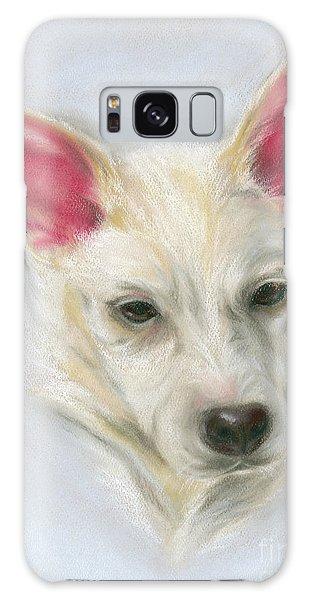 Young Carolina Dog Portrait 2 Galaxy Case