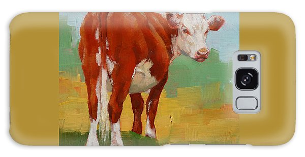 Young Cow Galaxy Case