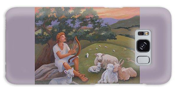Young David As A Shepherd Galaxy Case