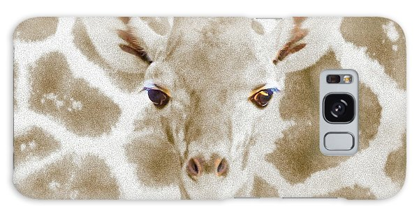 Young Giraffe Galaxy Case