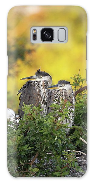 Young Herons Galaxy Case