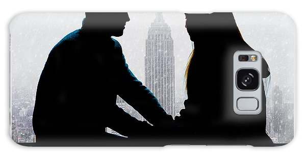 Galaxy Case featuring the photograph Young Love     by Chris Lord