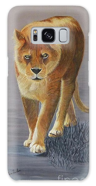 Young Male Lion Galaxy Case