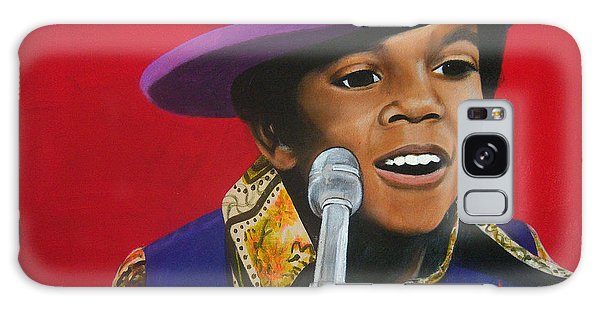 Young Michael Jackson Singing Galaxy Case