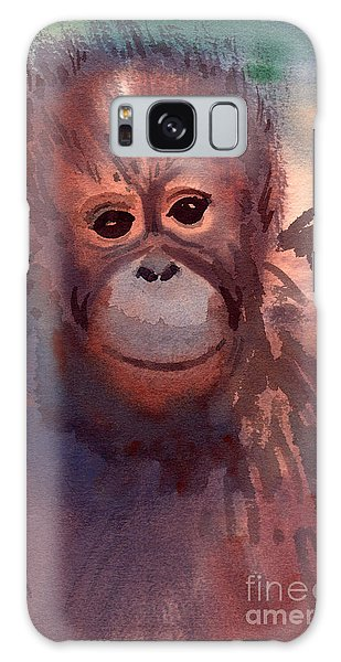 Young Orangutan Galaxy Case