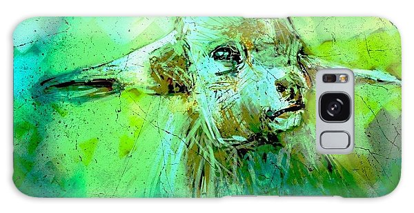 Young Sheep Galaxy Case by Jim Vance