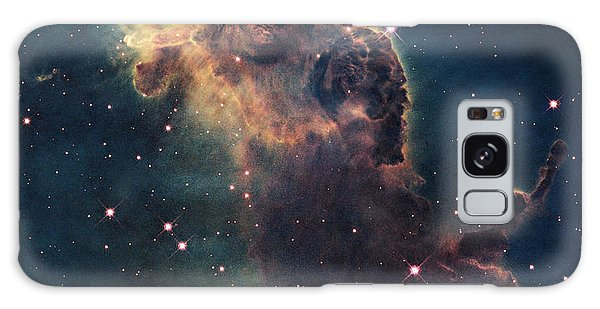 Young Stars Flare In The Carina Nebula Galaxy Case