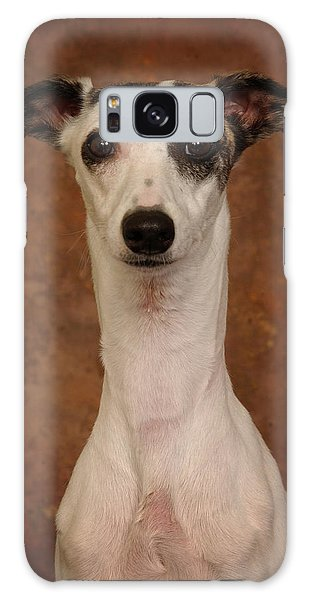 Young Whippet Galaxy Case