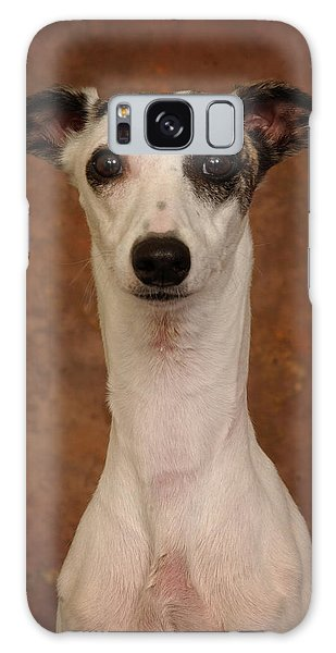 Young Whippet Galaxy Case by Greg Mimbs