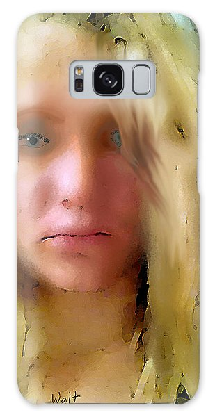 Young Woman Galaxy Case
