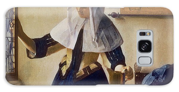 Jan Vermeer Galaxy Case - Young Woman With A Water Jug by Jan Vermeer