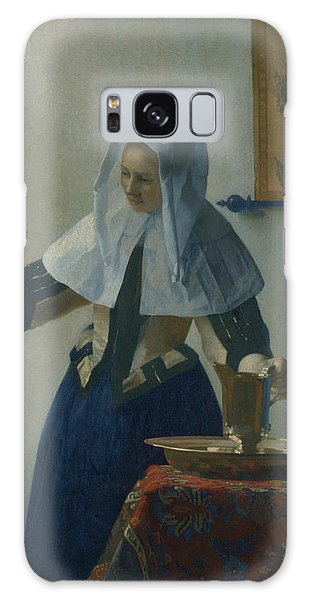 Jan Vermeer Galaxy Case - Young Woman With A Water Pitcher  by Jan Vermeer