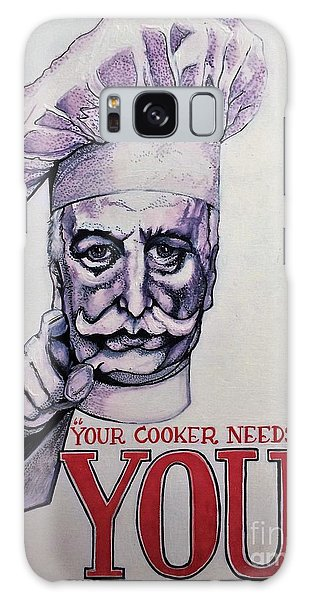 Your Cooker Needs You Galaxy Case