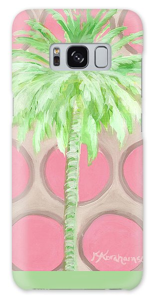 Your Highness Palm Tree Galaxy Case
