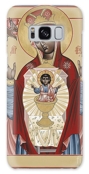 The Black Madonna Your Lap Has Become The Holy Table 060 Galaxy Case
