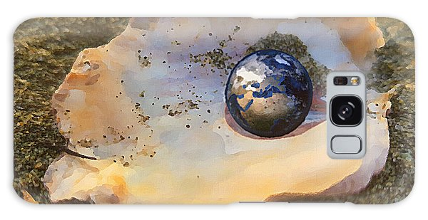 Galaxy Case featuring the digital art Your Oyster by Shelli Fitzpatrick