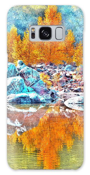 Yuba River Reflection Galaxy Case