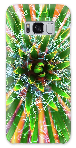 Galaxy Case featuring the photograph Yucca Sunrise by Darren White