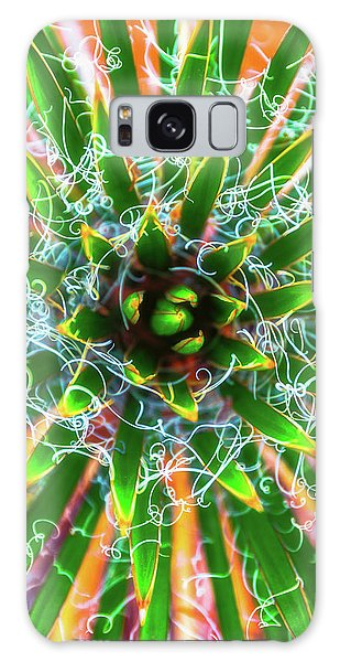 Yucca Sunrise Galaxy Case by Darren White