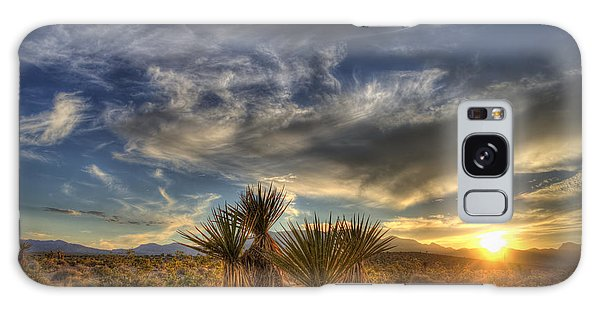 Yucca Sunset Galaxy Case