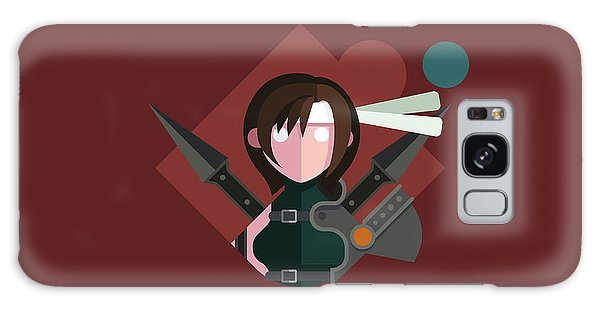 Yuffie Galaxy Case by Michael Myers