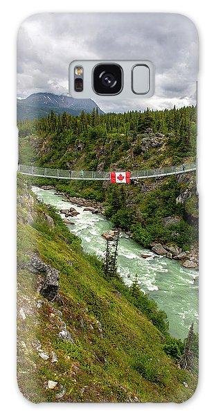 Yukon Suspension Bridge Galaxy Case