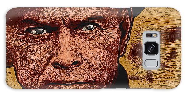 Galaxy Case featuring the digital art Yul Brynner by Antonio Romero