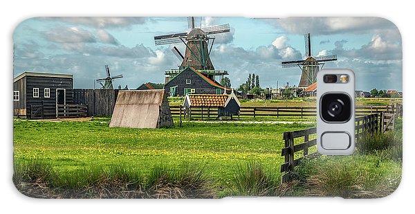 Zaanse Schans And Farm Galaxy Case