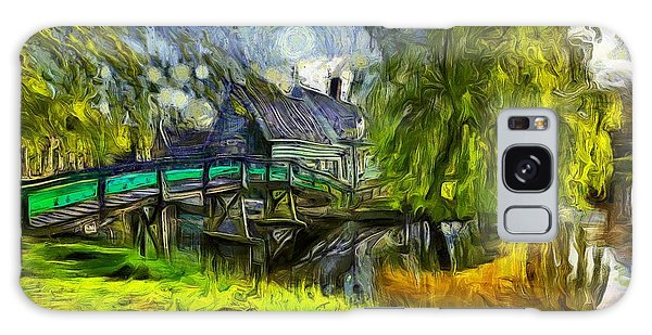 Zaanse Schans Galaxy Case