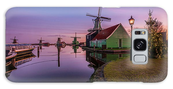 Zaanse Schans Holiday  Galaxy Case