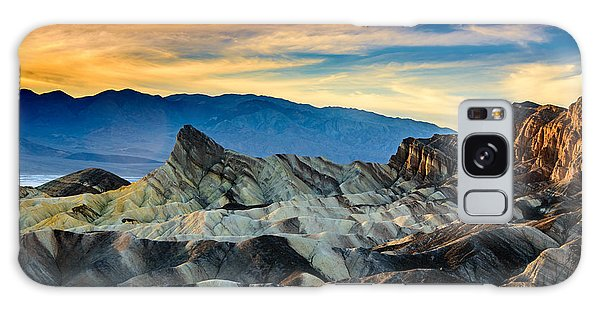 Zabriskie Point At Sundown Galaxy Case by Janis Knight