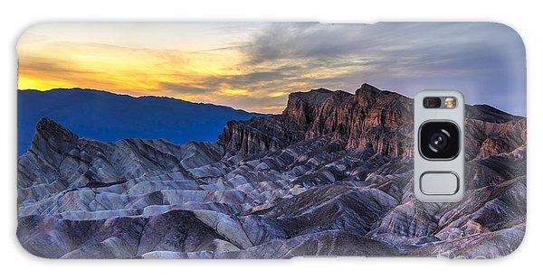 Zabriskie Point Sunset Galaxy Case by Charles Dobbs