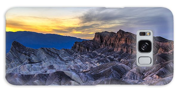 Galaxy Case - Zabriskie Point Sunset by Charles Dobbs