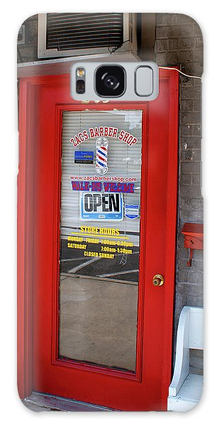 Zacs Barber Shop Galaxy Case