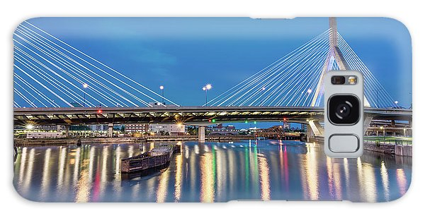 Zakim Bridge And Charles River At Dawn Galaxy Case