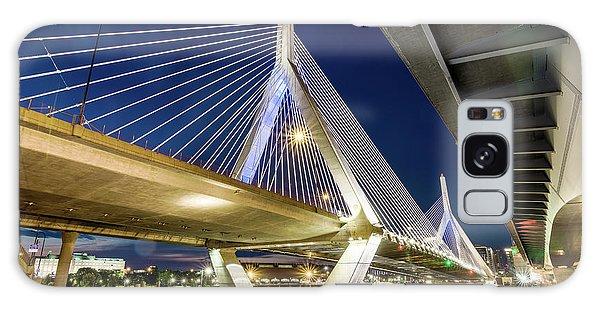 Zakim Bridge From Bridge Under Another Bridge Galaxy Case