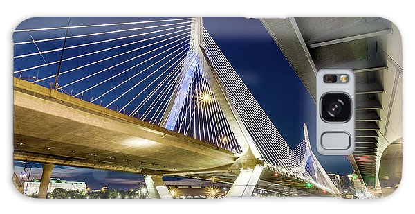 Zakim Bridge From Bridge Under Another Bridge Galaxy Case