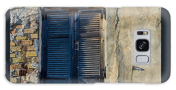 Zakynthos Town Window Galaxy Case