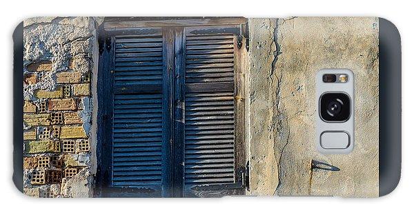 Zakynthos Town Window Galaxy Case